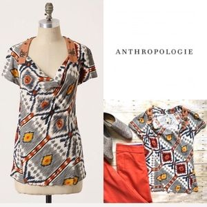 Anthropologie Tiny embellished tee